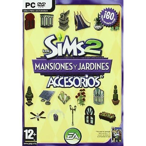 Los Sims 2 Mansiones Y Jardines Accesorios Pc Dvd España