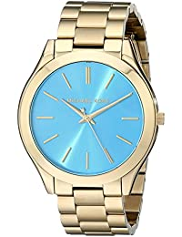 Michael Kors MK3265 - Reloj con correa de acero para mujer, color azul / gris