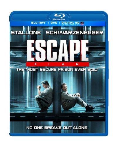 Escape Plan (Blu-Ray + DVD + Digital HD) by Arnold Schwarzenegger