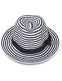 HUO Berretto Cappello per il sole femminile Cappello per il sole pieghevole  cappello di paglia Estate Anti-UV… f796cdf1eb71