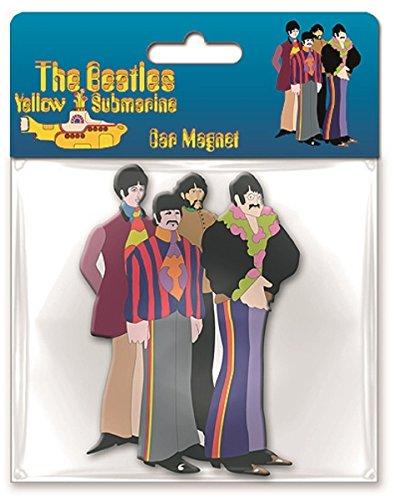 Yellow Submarine Sub Band Car Magnet - Beatles Yellow Submarine Magnet