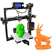 Kits d'Anet Desktop Imprimante 3D DIY à monter soi-même Écran LCD alliage d'aluminium Cadre Replay I3 avec carte SD 8 Go Taille d'impression 220 x 220 x 220 mm Support ABS/PLA