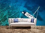 Große Wand druckt Blick auf Yachtcharter Wand Drucken Wandbild Tapetensticker Tapeten