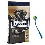 Happy Dog 12,5 kg Supreme Sensible Canada Hundefutter glutenfrei + Ballschleuder