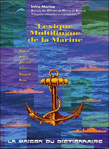 Lexique multilingue de la marine par Intra-Marine