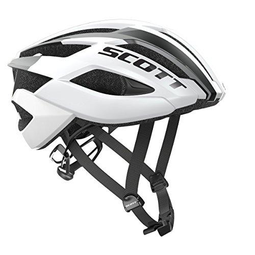 Scott Arx Rennrad Fahrrad Helm weiß 2019: Größe: M (55-59cm)