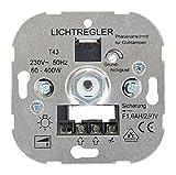Blass Elektro Phasenanschnittsdimmer Sockel Universal Druck/Wechsel, 60-400 W, 00351