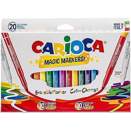 galeria de dibujos kawaii Carioca - Caja de 20 rotuladores (A911000SM)