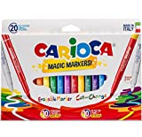 Carioca Stereo Magic20 Special Erasable/ Change Color Ink Markers