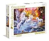 Clementoni 31805Wilde unicornios–HQC Puzzle, 1500piezas