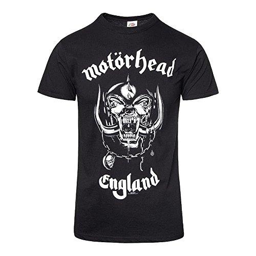 Motorhead - Camiseta - manga 3/4 - Hombre Negro negro