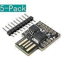 YOUMILE 5 Pack Digispark Kickstarter ATTINY85 Micro USB Development Board For Arduino