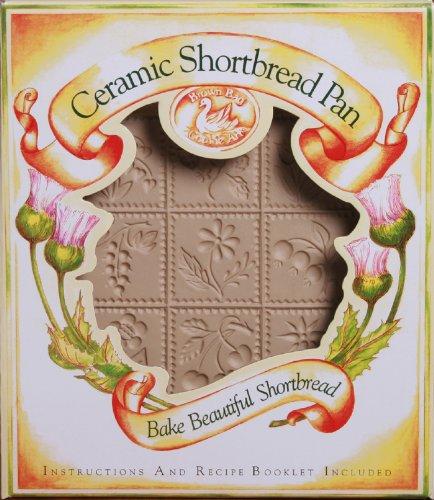 Brown Bag Flowers & Berries Shortbread Cookie Pan by Brown Bag Brown Bag Shortbread Pan