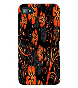 PRINTSWAG FLOWERS Designer Back Cover Case for BLACKBERRY Z10