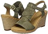 Gabor Shoes Damen Comfort Sport Riemchensandalen, Grün (Oliv (Jute)), 35 EU - 5