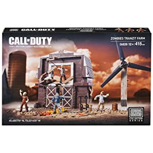 Call Of Duty – Mega Bloks Zombies Tranzit Farm house