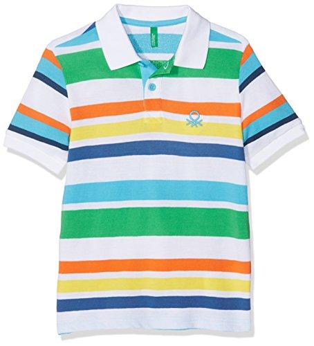 united-colors-of-benetton-h-s-t-shirt-polo-bambino-verde-multi-green-10-11-anni-taglia-produttorex-l