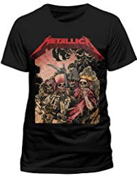 Live Nation - T-shirt Homme - Metallica - Four Horsemen