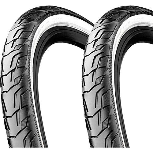 Continental Ride City E25 Draht Reflex 28x1,6Zoll 42-622mm 700x40C schwarz Weiss -