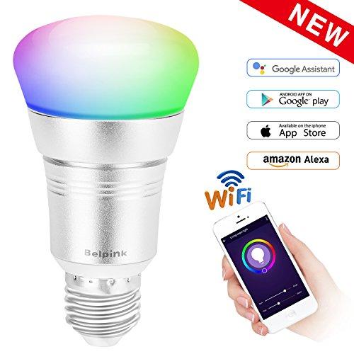 Smart WiFi Bulb Belpink,...