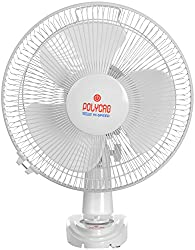 Polycab Bullet 2000 75 Watt Plastic High Speed Bullet Wall Fan (White & Blue)