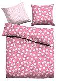 TOM TAILOR Unisex Heimtextilien & Bettware Bettwäsche für Kinder Pink/Fuchsia, 135/200