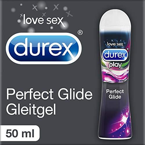Durex Play Perfect Glide Gleitgel auf Silikonbasis (Seidig-glattes Gleitmittel für langanhaltenden Spaß, in der praktischen Dosierflasche) 1 x 50 ml -