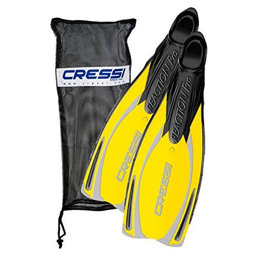 Cressi Reaction - Aletas de buceo de surf y natación