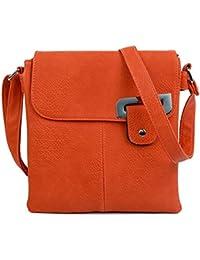 3bb5021546 Craze London Womens Medium Multiple Pockets Trendy Cross body Messanger  Shoulder bag