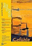 Der Blaue Reiter. Journal für Philosophie / Gefühle - H Landweer