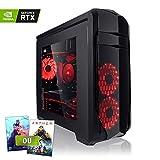 Megaport PC Gamer Premium Intel Core i7-9700K 8X 4,90 GHz Turbo • GeForce RTX2070 8Go • 16Go DDR4 • 480 Go SSD • 1To • Windows 10 • WiFi Unité Centrale Ordinateur de Bureau PC Gaming