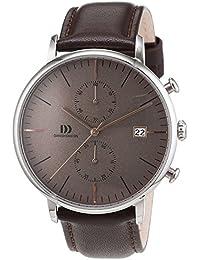 Danish Design Herren-Armbanduhr Analog Quarz Leder 3314507