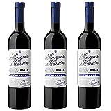 Marqués de Carrión Reserva D.O Rioja Vino Tinto - 3 Botellas x 750 ml -...