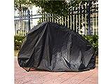 JKHGJUH Durable Fahrrad Motorrad Sonnenschutz Staubdicht und Wasserdicht Cover (Schwarz)