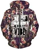 TDOLAH Manteau Blouson Veste à Capuche Femme Sweat-shirts avec Zippé Hoodie Pullover Outlet