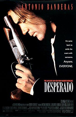 Poster Kunstdruck Bild Desperado~Antonio Banderas~Movie Film Kino Poster 89x59cm