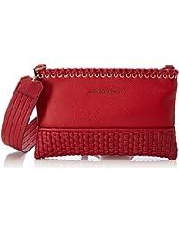 3c0109d1544c7 Trussardi Jeans Damen Mimosa Smooth Ecoleather Pochette Bag Clutch