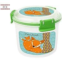 Müslidose Fuchs oder Eichhörnchen mit Namen, eigene Lunchbox von Finlix preisvergleich bei kinderzimmerdekopreise.eu