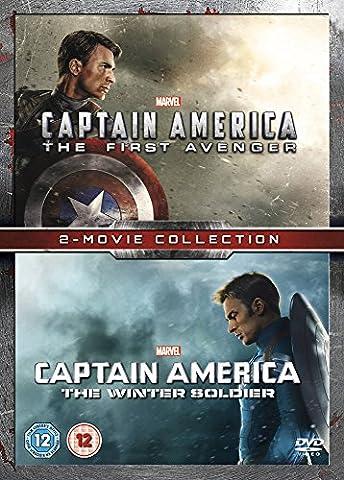 Captain America Film - CAPTAIN AMERICA 1 & 2 [Import