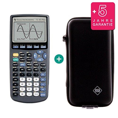 TI-83 Plus + Erweiterte Garantie + Schutztasche (Texas Instruments Plus Ti83)