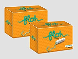 Floh Super Tampons Combo of 2 (20 pieces)