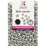 Les douceurs de Valentin Perles Argentées Chocolat 200 g -
