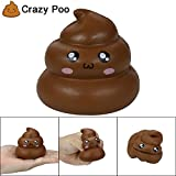 Clode Squishy Exquisite Fun Crazy Poo - Breloque parfumée - Soulèvement du Stress Croissant