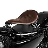 Solo Sitz mit Grundplatte Craftride SG6 braun Kawasaki VN 1500 Classic/Classic Tourer/Drifter/Mean Streak, VN 1600 Classic/Classic Tourer/Mean Streak, VN 1700 Classic/Tourer, VN-15