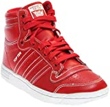 adidas Originals Top Ten Hi J (Scarlet Red, 6 M US Big Kid)