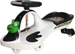 Panda International Swing Car Frog - White Black