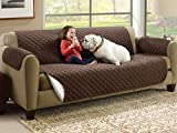 VMORE Reversible Couch Cover for Dogs, Kids, Pets - Sofa Slipcover Set Furniture