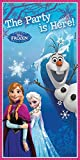 Disney Frozen Tür Banner, 5 ft x 2.5 FT
