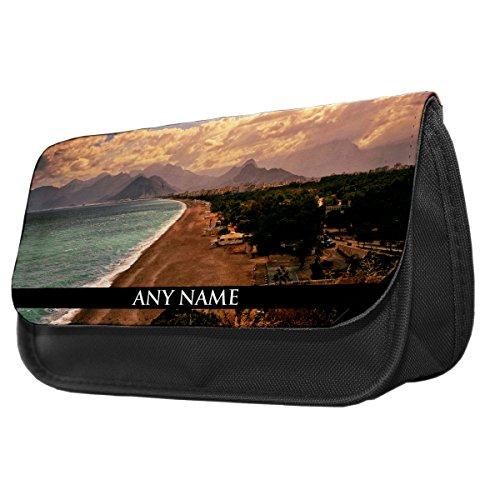 Preisvergleich Produktbild personalisierbar Antalya Türkei Bleistift Fall/Make-up Tasche 004