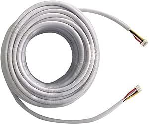 12V Kabel Türklingel 4 Kern Draht Access Control System Haus externe Türkli #EB